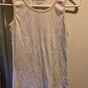 Aeropostale white sleeveless shirt
